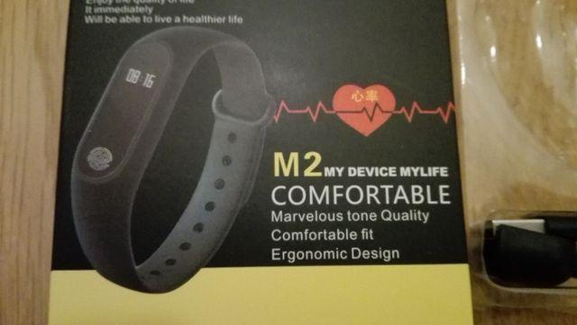 Smartband Sportowa opaska Fitness Bluetooth szczelna pulsometr, krokom