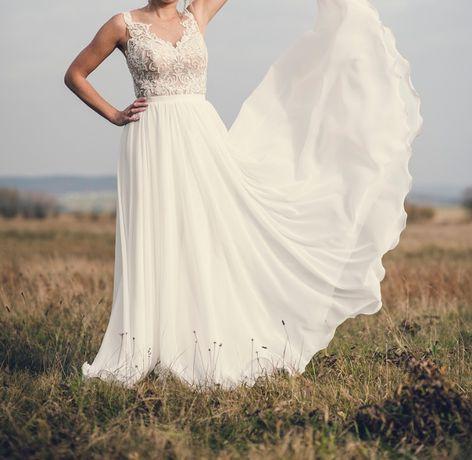 Suknia ślubna Kolekcja Pilar model Fantazja