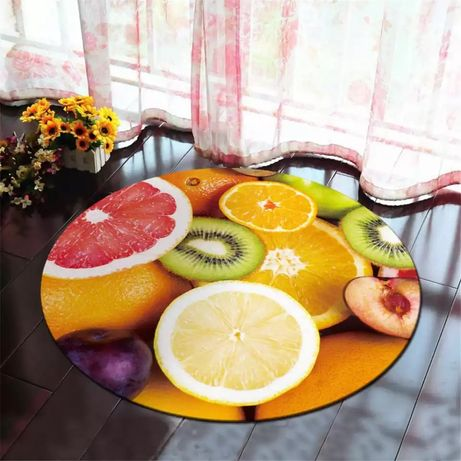 Tapete frutado novo