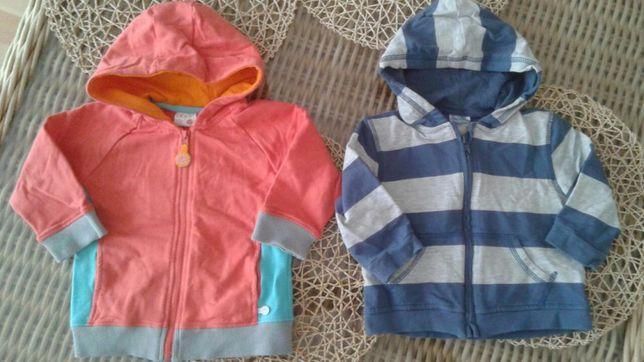Bluzy rozpinane 5-10-15 i Cherokee 80