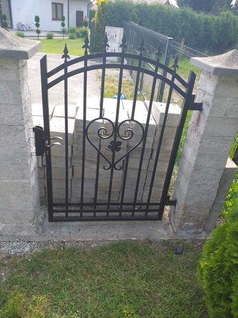 Brama ogrodzeniowa kompletna