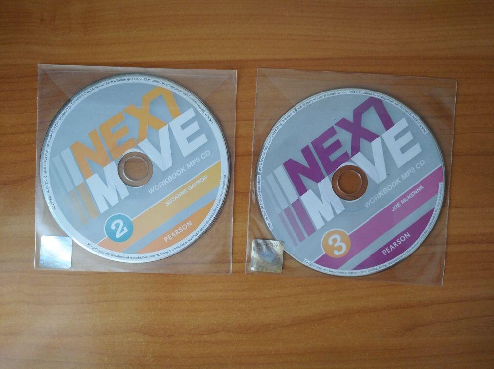 NEXT MOVE 2,3/ New Sparks 1,2,3 - płyty do języka angielskiego