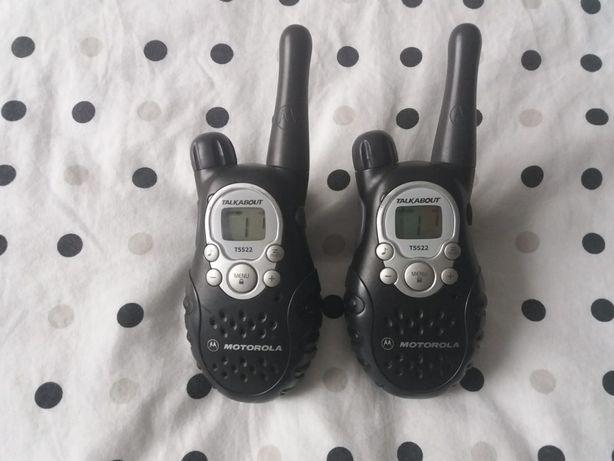 Walkie talkie, krótkofalowki Motorola T5522