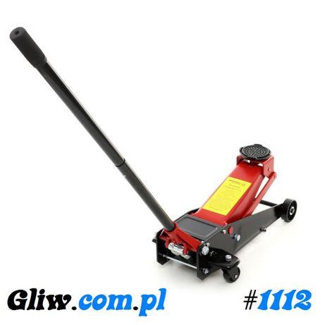 #1112 Podnośnik samochodowy 4T 2-tłokowy żaba 140-500mm