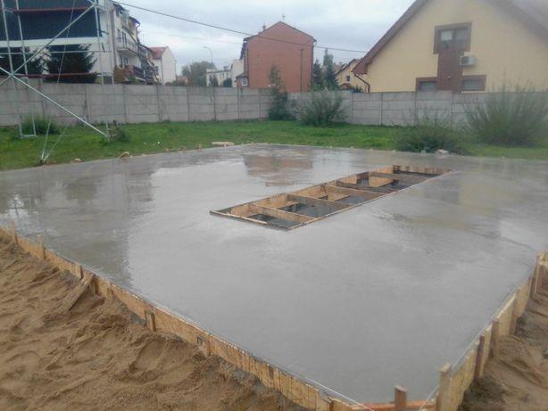 Uslugi budowlane , fundamenty , mury , podciagi , remonty