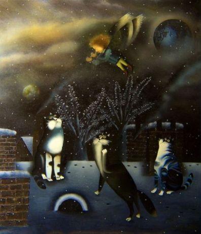 Картина холст масло абстракция декор лофт арт модерн пейзаж интерьер