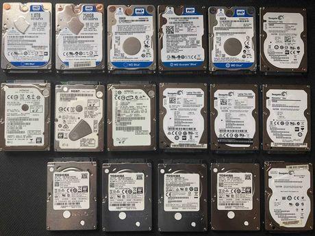 "Жёсткие диски WD, Seagate, Hitachi, TOSHIBA 2,5"", 500/750/1000GB"
