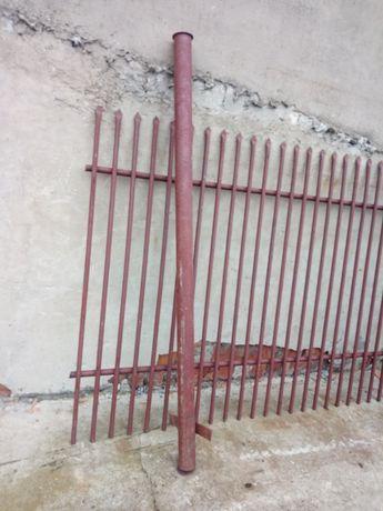 Słupki ogrodzeniowe z rury stalowej