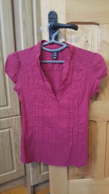 Блуза, блузка. Розовая, бурдовая