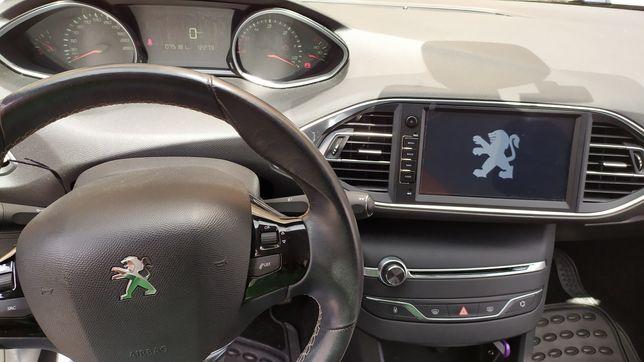 Auto Rádio Peugeot 308 e 308S GPS DVD Bluetooth partir de 2014 Android