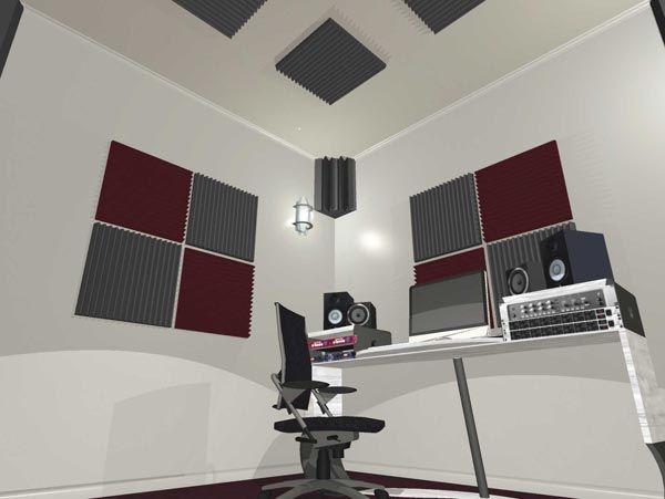 Tratamento Acústico para Estúdio Áudio
