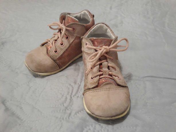 Buty - trzewiki Emel - rozm. 22 dla dziewczynki