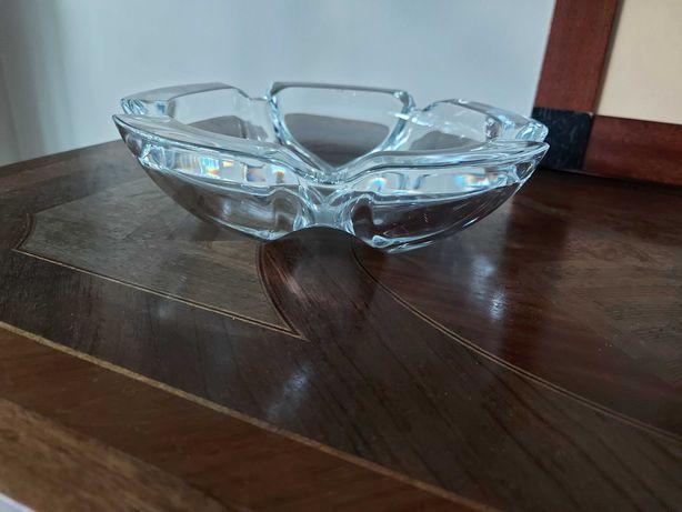 Cinzeiro redondo de  cristal