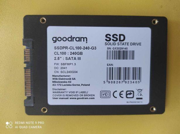 SSD disk 240 GB e