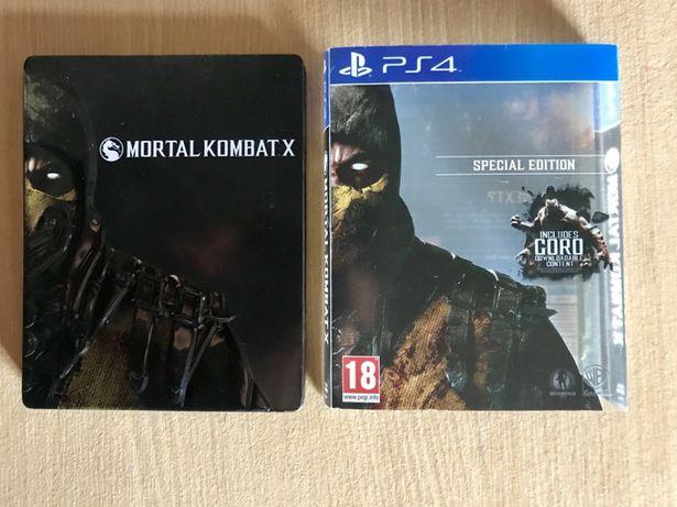 Mortal Kombat X steelbook edition ps4