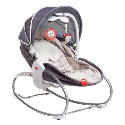 Детская кресло шезлонг кроватка качалка люлька 3в1 Tiny Love Тинни Лав