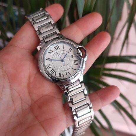 Zegarek logowany Cartier, 37mm, bardzo dobra jakość, bransoleta