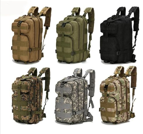 (NOVO) MOCHILA Tática Militar Assault Camuflada 35 e 45 LITROS
