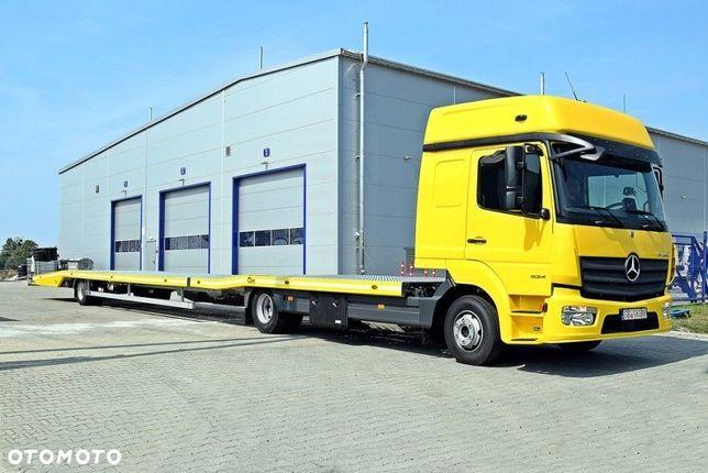 Mercedes-Benz Atego 824 L  Autotransporter MB 824L dostępny DO ZABUDOWANIA