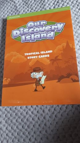 Our discovery island story cards