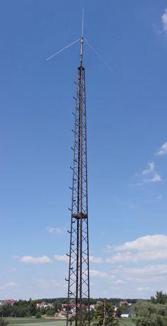 Maszt wieża stacja antenowa