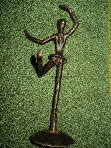 Статуэтка 21см ручная работа литьё металл из Германии подарок старина