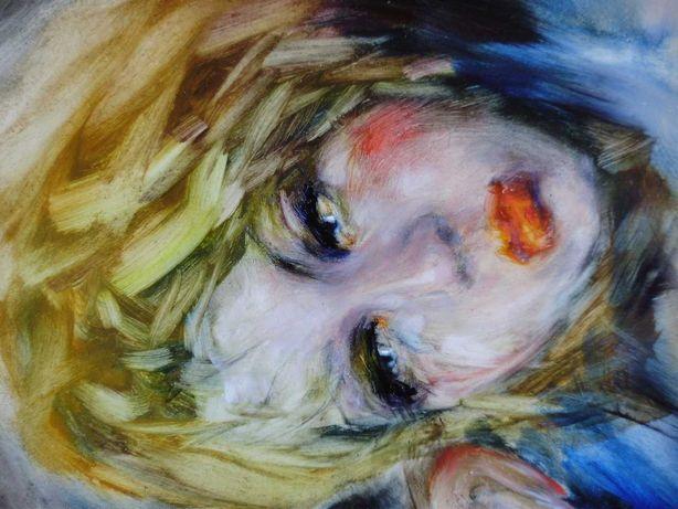 Картина живопись маслом девушка эротика ню, обнаженная.  «Анна»,