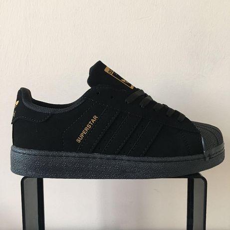 Adidas Superstar. Rozmiar 36,37,38,39,40,41. całe czarne.
