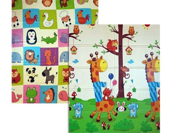 Детский коврик, игровой коврик, коврик для ползания Бебипол 180х150х1