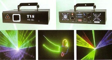 Світловий Лазер TVS VS-18 RGB Animated 800mw оренда світлового лазер.
