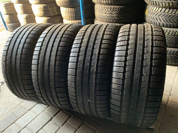 зима 255\45\R17 7.8мм Continental Winter TS 810 S 4шт шины