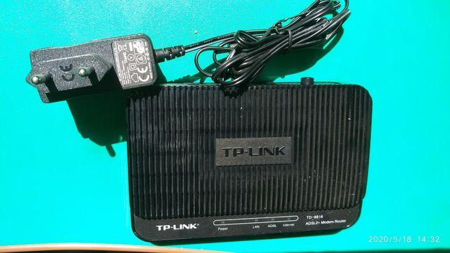 Модем Роутер  ADSL-2+ TP-Link TD-8816