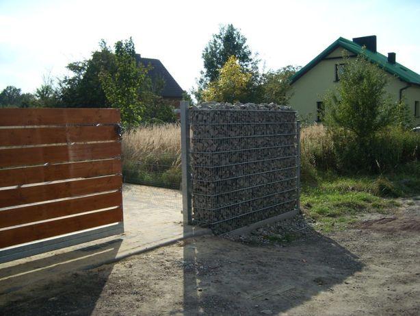 Ogrodzenia - palisadowe, Joniec, panelowe, gabionowe, bramy, przęsła