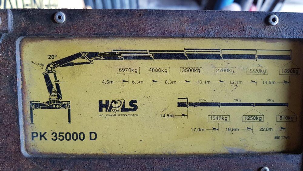 Продам кран-манипулятор Palfinger PK35000, манипулятор Харьков - изображение 1
