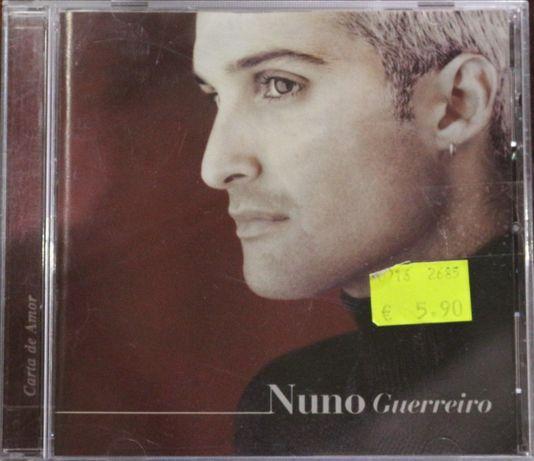 """Cd Musical """"Nuno Guerreiro - Carta de Amor"""""""
