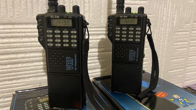 Alan CT 180 VHF ręczniaki 2szt komplety.