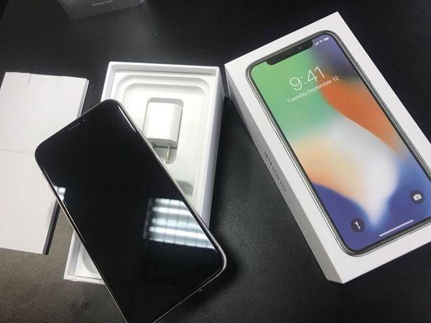 IPhone X 64 silver Neverlock, Идеальное состояние, МАГАЗИН