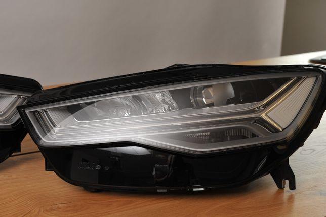 Reflektor Audi A6 full led skrętny prawy/lewy stan doskonały.