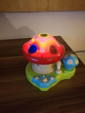 Projektor grzybek światło dźwięk
