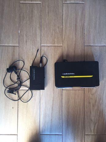 Zestaw bezprzewodowy  mikrofon audio technica do saksofonu lub  trąbki