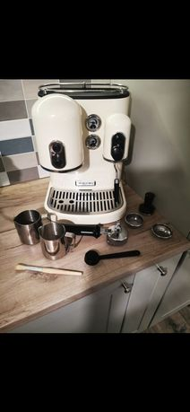 Ekspres do kawy kitchen aid kremowy