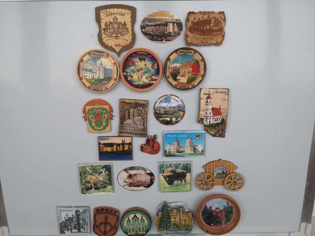 Магнит Брест Мирский замок Беларусь магнитик сувенир на холодильник