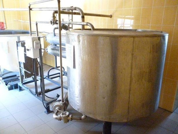 Молочные ванны для пастеризации молока ВДГ-300, ВДП-600, ВН-600