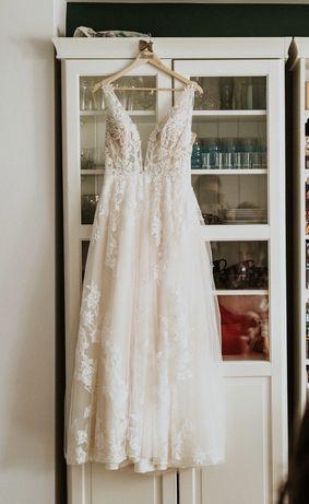 SPRZEDAM suknie ślubną - Justin Alexander