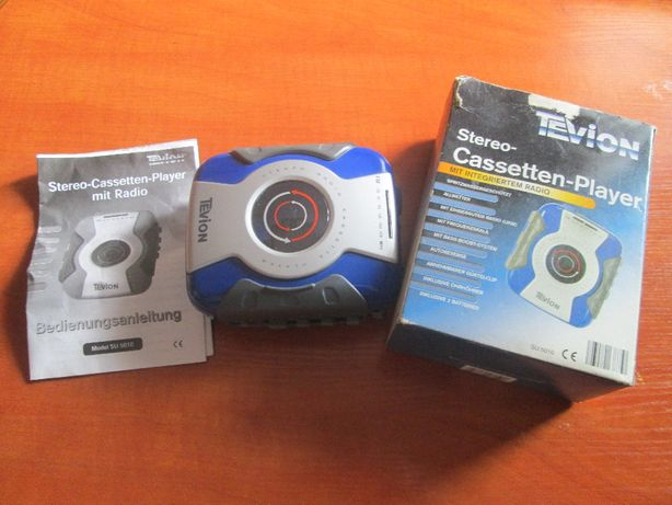 Tevion radio cassette walkman splash prof