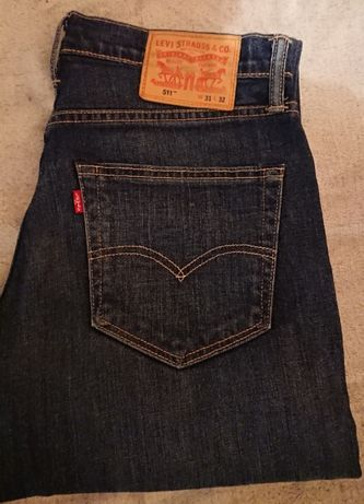 140 zł za 2 pary spodni jeans levi's 511