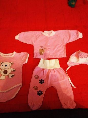 Теплый костюмчик 3-6 месяцев