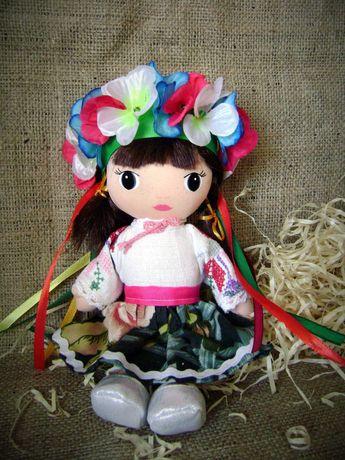 Украинский сувенир №91 мягкая кукла в народном костюме