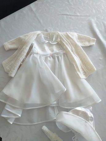 Sukieneczka do chrztu rozmiar 68