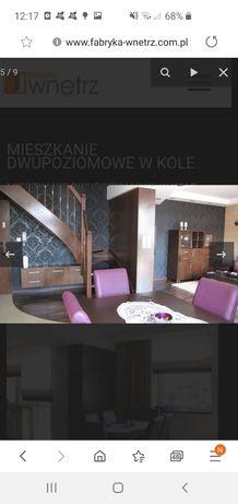 Mieszkanie dwupoziomow 82 m2 ul. Różana, wysoki standard